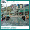 Rk Portable Aluminum Stage Glass Platdorm with Stairs for Event
