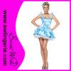 Sexy Blue Adult Princess Costume