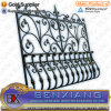 Casting Steel Fence Flower Panels