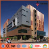 3mm-6mm Exterior Wood Finish Aluminium Composite Panel (AE-306)
