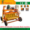 Mobile Egg Laying Hollow Block Making Machine Qmy4-45