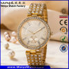 ODM Fashion Stainless Steel Ladies Quartz Wrist Watch (WY-P17004B)