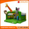 2018 Cheap Inflated Toy/Jungle Moonwalk Inflatable Bouncer for Kids (T1-110)