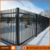 Plastic Coated Steel Stockade Barrier Fence
