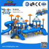 Cartoon Series Children Outdoor Playground Long Plastic Slides