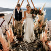 Pampas Grass Mad Maven Style's Marie Antoinette Meets Southwestern-Inspired Wedding