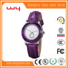 Custom Design Watch Leather Classic Wrist Watches for Women (WY-023)
