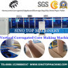 Vertical Corrugated Cellular Fiber Sheet Machine