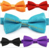 Fashion Apparel Accessories Baby Kids Polyester Bowtie Unicolor