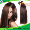 7A Grade Straight Natural Brown Unprocessed Brazilian Virgin Human Hair