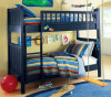 American Style Children Solid Wood Bunk Bed with Good Price (M-X1160)