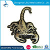 The Scorpion Coin with Antique Sliver Plating for Reward with Soft Enamel in 3D Craft (043)