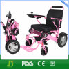 Ultra Light Aluminum Folding Electric Wheelchair with Lithium Battery
