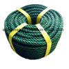 Green Red PE Rope Made From Recycled Material