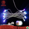 Color Changed Rubber Power Cored 6W Holiday Light String for Ramadan Decoration