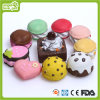 Vinyl Sweet Cake Pet Toy (HN-PT672)