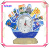 Polyresin Souvenir Craft, Resin Clock, Desktop Clock