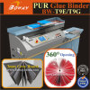 300 Books/Hour 360 Degree Opening Hot EVA Pur Glue 2 in 1 Perfect Binding Machine Price