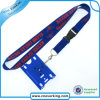Promotioanl Gift Polyester Material ID Card Lanyard