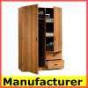 Wholesale Cheap Kd Design Modern Melamine Wooden Bedroom Wardrobe