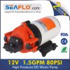 80 Psi 12V Portable Pressure Diaphragm Pump for Washing