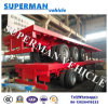 50ton Heavy Duty Flatbed Container Cargo Truck Semi Trailer