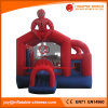 China Spider Man Jumping Moonwalk Bouncer with Slide Combo (T3-462)