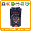 Round Metal Tin Tea Caddy for Tea Can Food Packaging