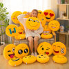 Plush Toys QQ Expression Package Pillow Emoji Smiley Cushion Custom Logo Gift Company Annual Meeting Activities