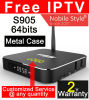 Custom Made T95 Android6.0 TV Box S905X Quad Core 2GB 8GB 1500+ Live TV Channels 1000+ VOD IPTV