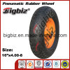16 Inch 4.00-8 Rubber Pneumatic Wheel