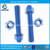 China Supplier DIN975 Threaded Rod / Stud Bolt with Nut DIN976