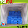 D-Ring PE Tarpaulin, Truck Cover, UV Treated