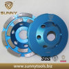 Diamond Double Single Row Cup Wheel for Stone Grinding