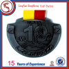 Custom 3D Gold Medal with Short Ribbon