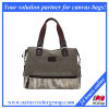 Women′s Designer Canvas Satchel Handbag