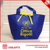 Cute Custom Non-Woven Shopping Bag with Bow for Lady