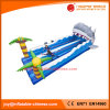 Funny Inflatable Sea World Bungee Run Sport Game (T7-003)