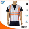 High Visibility Vest with 4 Lower Pockets and Reflective Tape