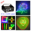 3 in 1 3D Laser Light DJ Lights