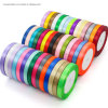 Wholesale Woven Polyester Satin Celebrate It 100% Silk Ribbon Custom Logo