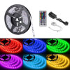 IP20 DC12V/24V 4.8W/M 8mm Width IP20 Indoor 3528 120 LED Per Meter UL LED Strip Light