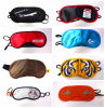 Ce Certification Custom Printed Satin Sleeping Eye Masks for Shading Light