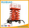 Movable Type Hydraulic Battery Power Scissor Lifter Shear Fork Lifting Platform