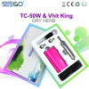 2017 Seego Healthy Vhit King Dry Herb Atomizer & Tc-50W Battery with LCD Display