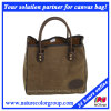 Mens Casual Canvas Tote Travel Bag with High-Capacity