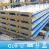 Shandong 50mm 75mm 100mm 150mm Rockwool Sandwich Panel for Roof Andwall