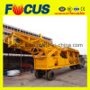 Mobile Concrete Mixing Plant 35m3/H Small Portable Concrete Batch Station