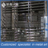 Factory Manufacture 304# Hairline Stainless Steel Display Rack for Suppermarket/Retailstore