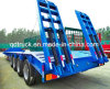 4axles Excavator Transport Gooseneck Lowboy Low Bed Lowbed Semi Trailer